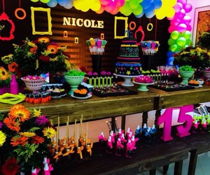 festa, neon, and party image