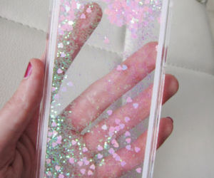 case, girly, and glitter image