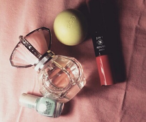 chanel, eos, and make-up image