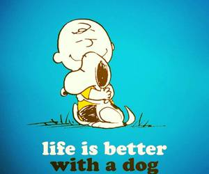 dog, life, and snoopy image