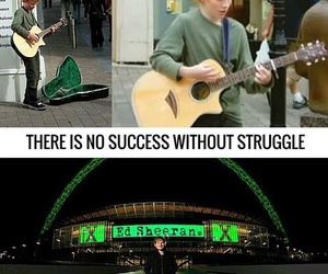 ed sheeran, success, and struggle image