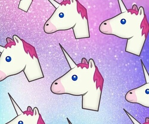 unicorn, wallpaper, and pink image