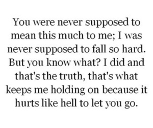 love, quote, and hurt image