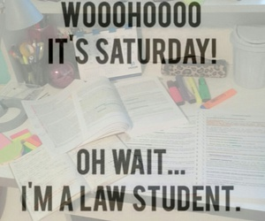 books, funny, and law student image