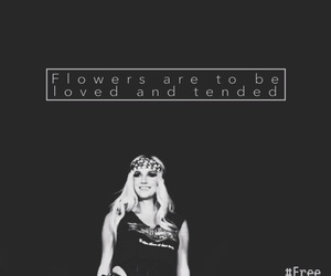 flower, justice, and kesha image