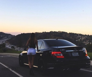 beauty, benz, and black image