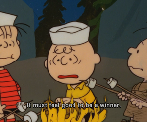 charlie brown, Linus, and loser image