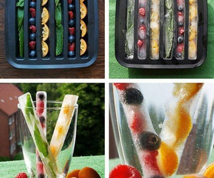 diy, fruit, and ice image