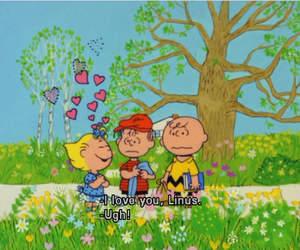 charlie brown, Linus, and peanuts image