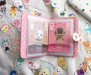 animal crossing, kawaii, and cards image