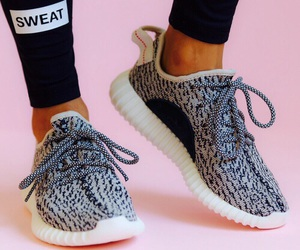 shoes, kanye west, and yeezy image
