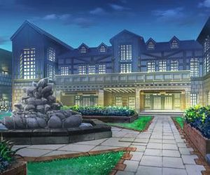 anime scenary, anime background, and story place image