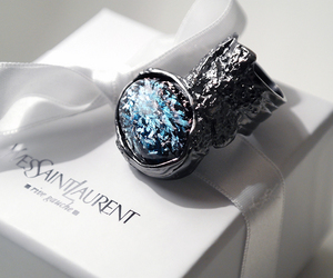YSL, ring, and fashion image