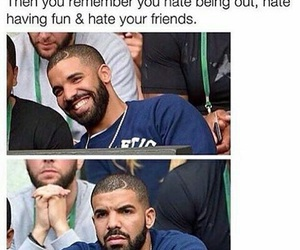 Drake, funny, and friends image