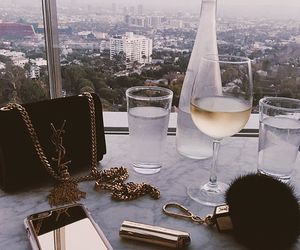 luxury, drink, and YSL image