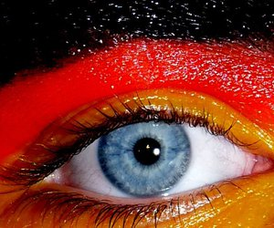eye, flag, and german image