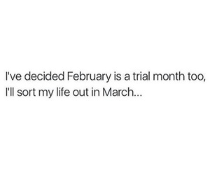 funny, quotes, and february image