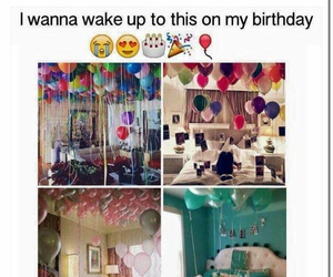 birthday, goals, and balloons image