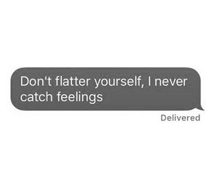 catch, never, and text image