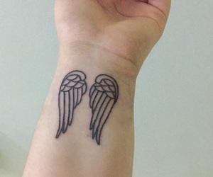 tattoo and angel image