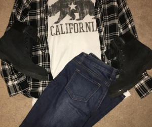 california, fashion, and outfits image