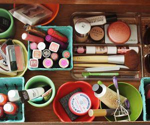 girl, makeup, and girly image