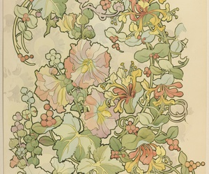 edwardian, flowers, and pink image