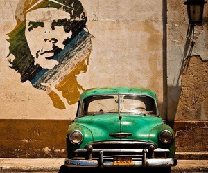 car, che, and cuba image