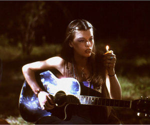 girl, guitar, and dazed and confused image