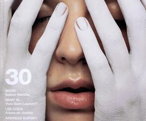 magazine, white, and art image