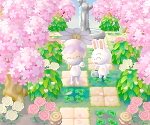 animal crossing, pastel, and acnl image