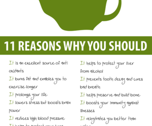 green tea, tea, and healthy image