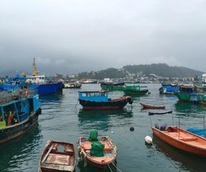 fisher, seafood, and hong kong image
