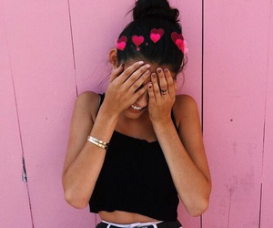 madison beer and pink image
