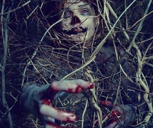 creepy, dark, and horror image