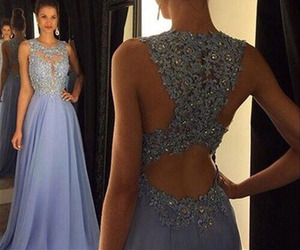 prom dress, chiffon prom dress, and 2016 prom dress image