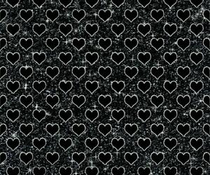 background, black, and glitter image