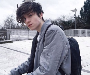 boy, hair, and guy image