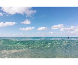 beach, earth, and ocean image