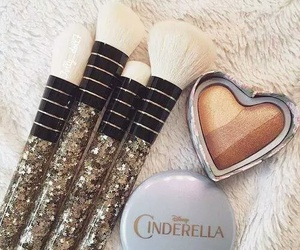 makeup, cinderella, and mac image