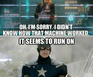 captain america, Marvel, and funny image