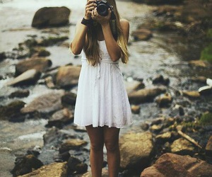 camera, love, and girl image