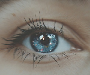 beautiful, blue, and eye image