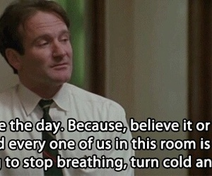 robin williams, dead poets society, and quotes image