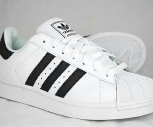 adidas, fashion, and trainers image