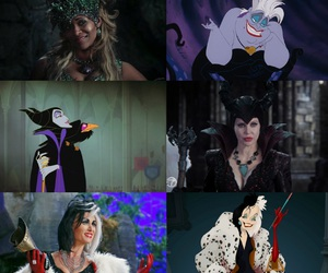 once upon a time, ursula, and maleficent image