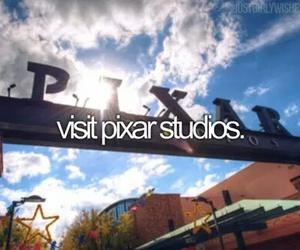 pixar, bucket list, and before i die image