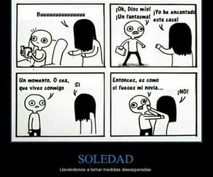 funny, soledad, and love image