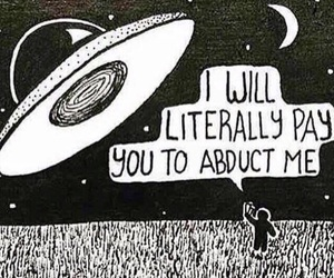 alien, space, and funny image