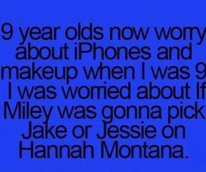 hannah montana, funny, and true image
